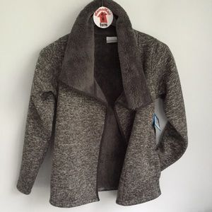 NWT Columbia Wrap Sweater Jacket Sherpa Fleece